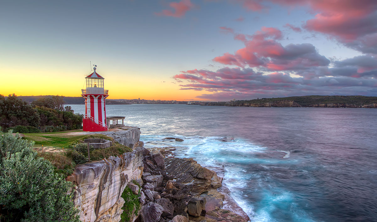 Hornby Lighthouse Beck Dunn Photography