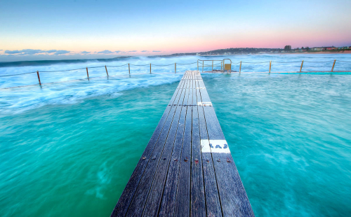 Early morning photo of North Narrabeen Lap Pool