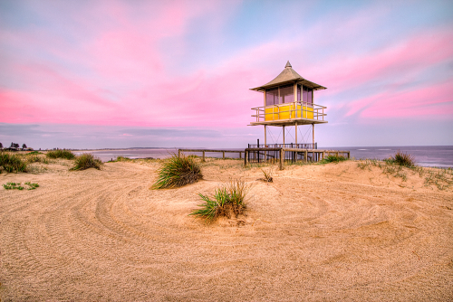 Sunset at The Shark Tower, The Entrance, NSW, Australia