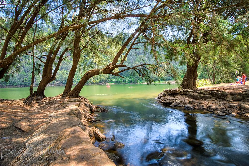 Swimming Hole at Bents Basin, Wallacia, NSW, Australia