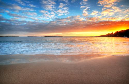 A Peaceful Summers morning at Kioloa Beach