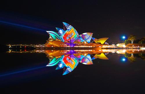 Sydney's Vivid Light Festival 2013